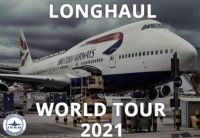 [IVAO] Long Haul World Tour 2021