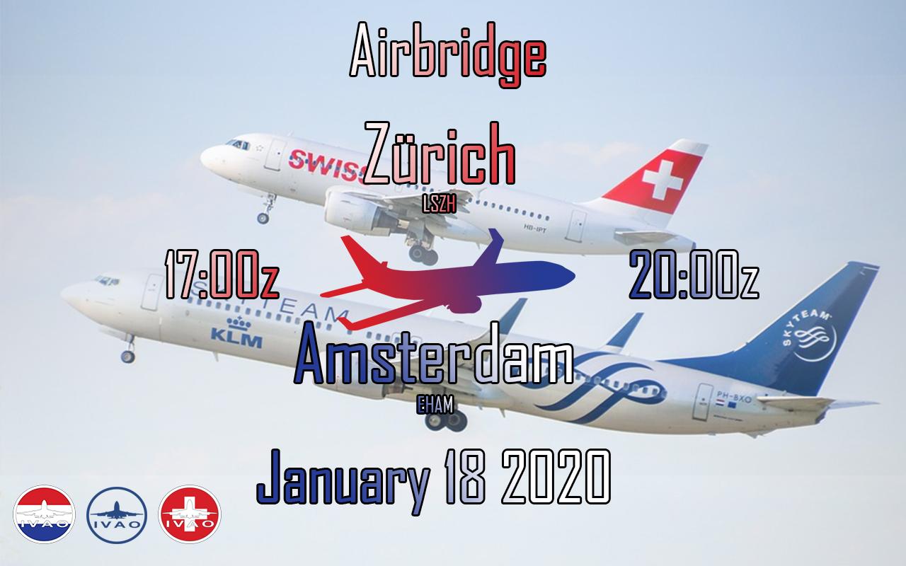 [CH+NL] Flughafen Zurich - Schiphol Airbridge